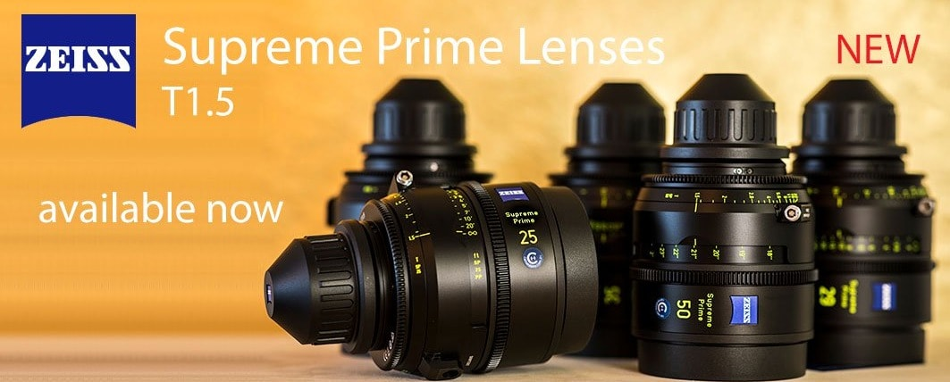 ZEISS CP3 & Supreme Prime lenses