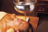 Shirodhara treatments for stress relief at kerala,kochi