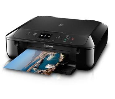Canon PIXMA MG5770 Inkjet Multi Function Printer Black