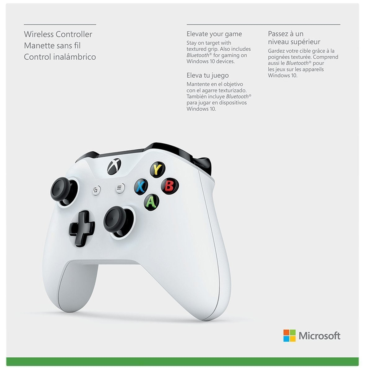Xbox One Wireless Controller With Bluetooth (With 3.5 Mm Jack) (White)