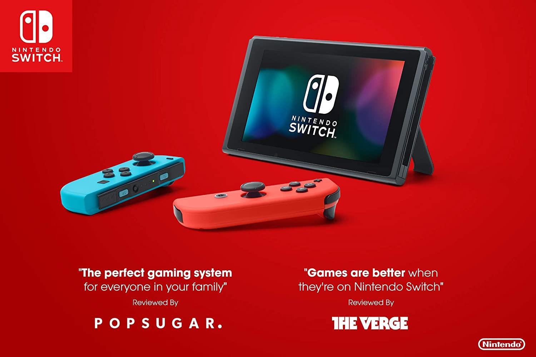 Nintendo Switch Console Neon V2
