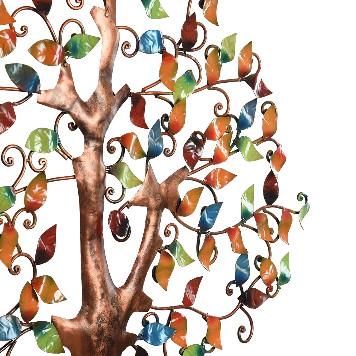 Tree Of Wisdom & Life Wall Hanging Art Birds On Branches Decor Sculpture