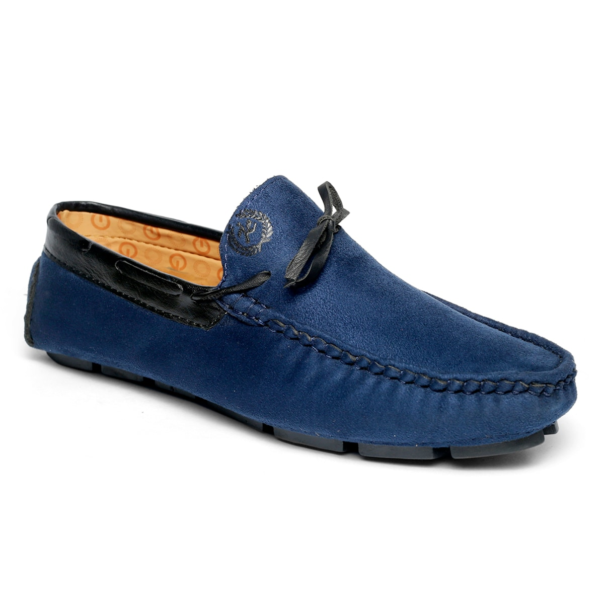 JK PORT COMFORTABLE, FASHIONABLE AND TRENDY LOAFERS JKPLF053BLU (BLUE,6-10,8 PAIR)