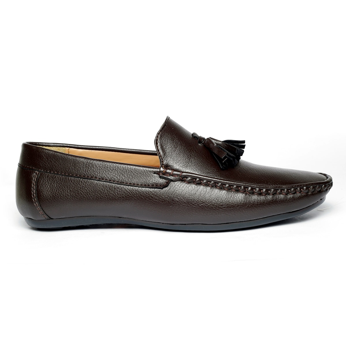 JK PORT COMFORTABLE, FASHIONABLE AND TRENDY LOAFERS JKPLF057BRN (BROWN,6-10,8 PAIR)