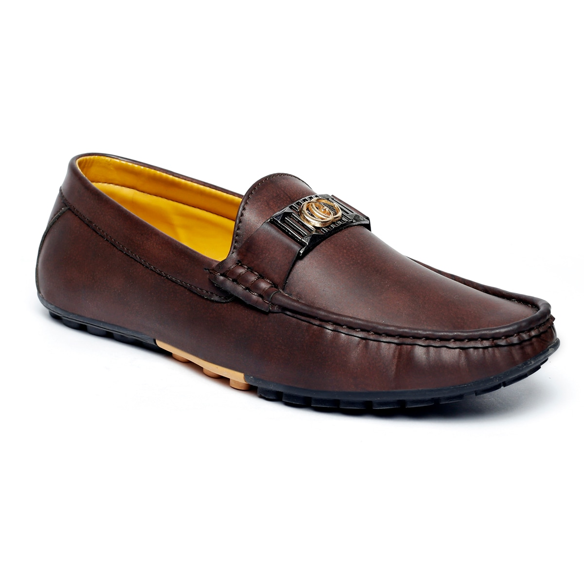 JK PORT COMFORTABLE, FASHIONABLE AND TRENDY LOAFERS JKPLF040BRN (BROWN,6-10,8 PAIR)