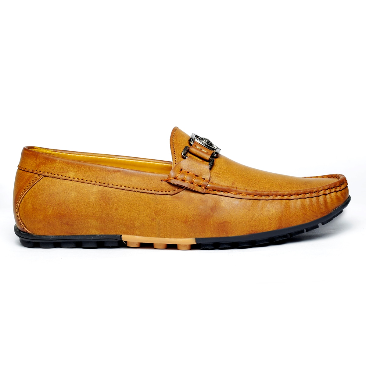 JK PORT COMFORTABLE, FASHIONABLE AND TRENDY LOAFERS JKPLF039TAN (TAN,6-10,8 PAIR)