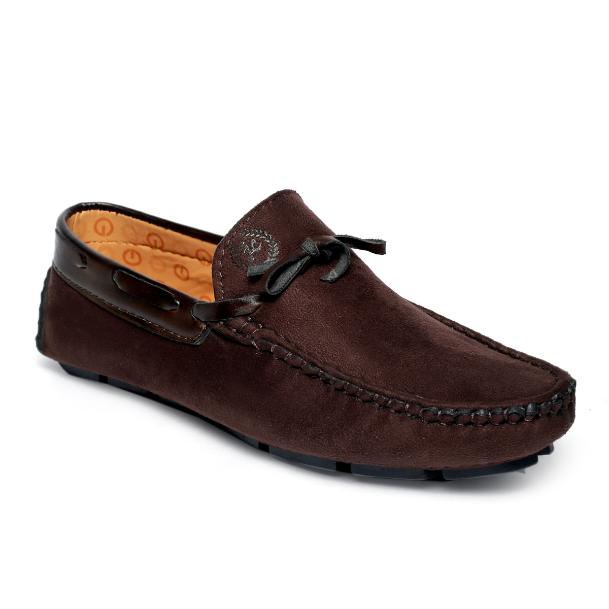 JK PORT COMFORTABLE, FASHIONABLE AND TRENDY LOAFERS JKPLF053BRN (BROWN,6-10,8 PAIR)