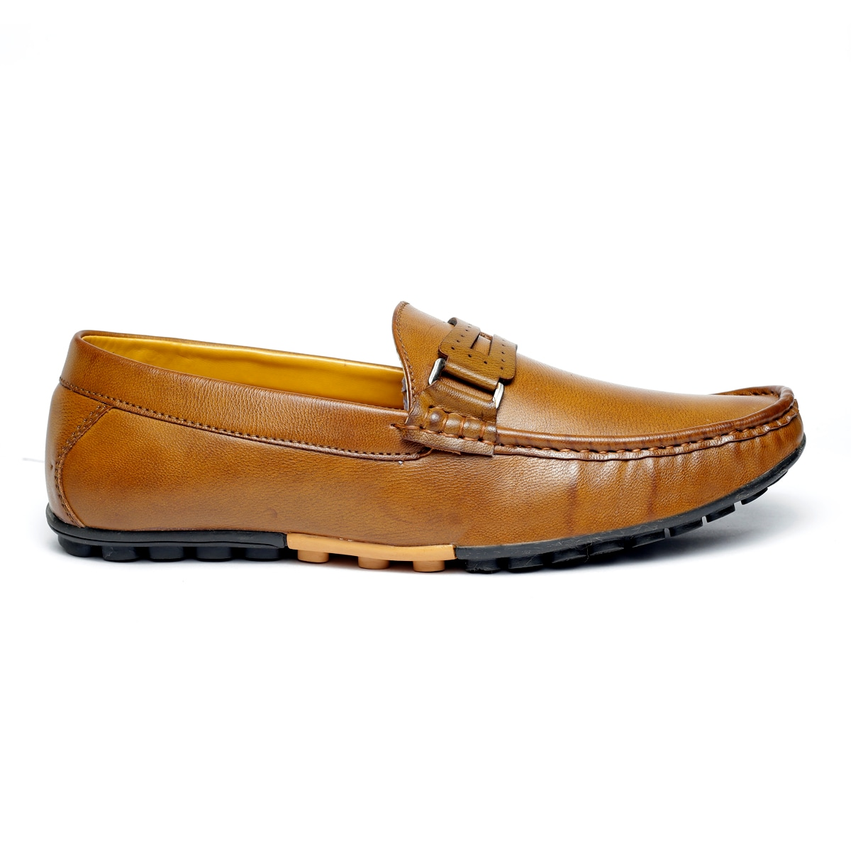 JK PORT COMFORTABLE, FASHIONABLE AND TRENDY LOAFERS JKPLF037TAN (TAN,6-10,8 PAIR)