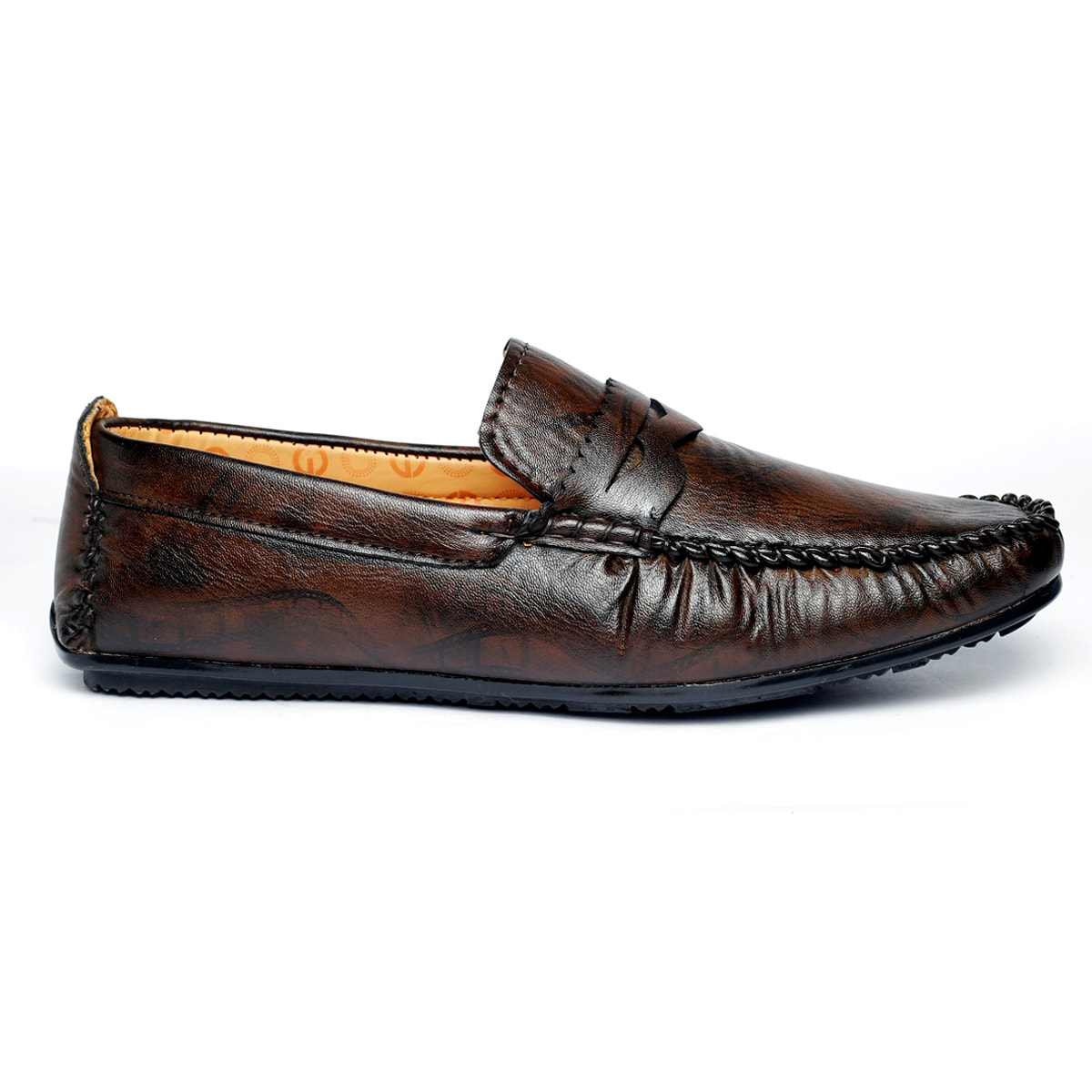 JK PORT COMFORTABLE, FASHIONABLE AND TRENDY LOAFERS JKPLF058BRN (BROWN,6-10,8 PAIR)