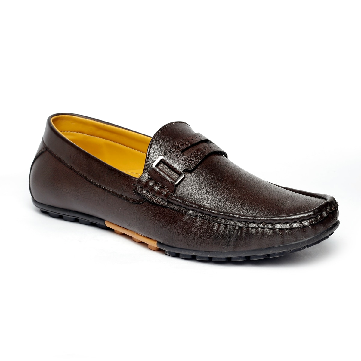 JK PORT COMFORTABLE, FASHIONABLE AND TRENDY LOAFERS JKPLF037BRN (BROWN,6-10,8 PAIR)