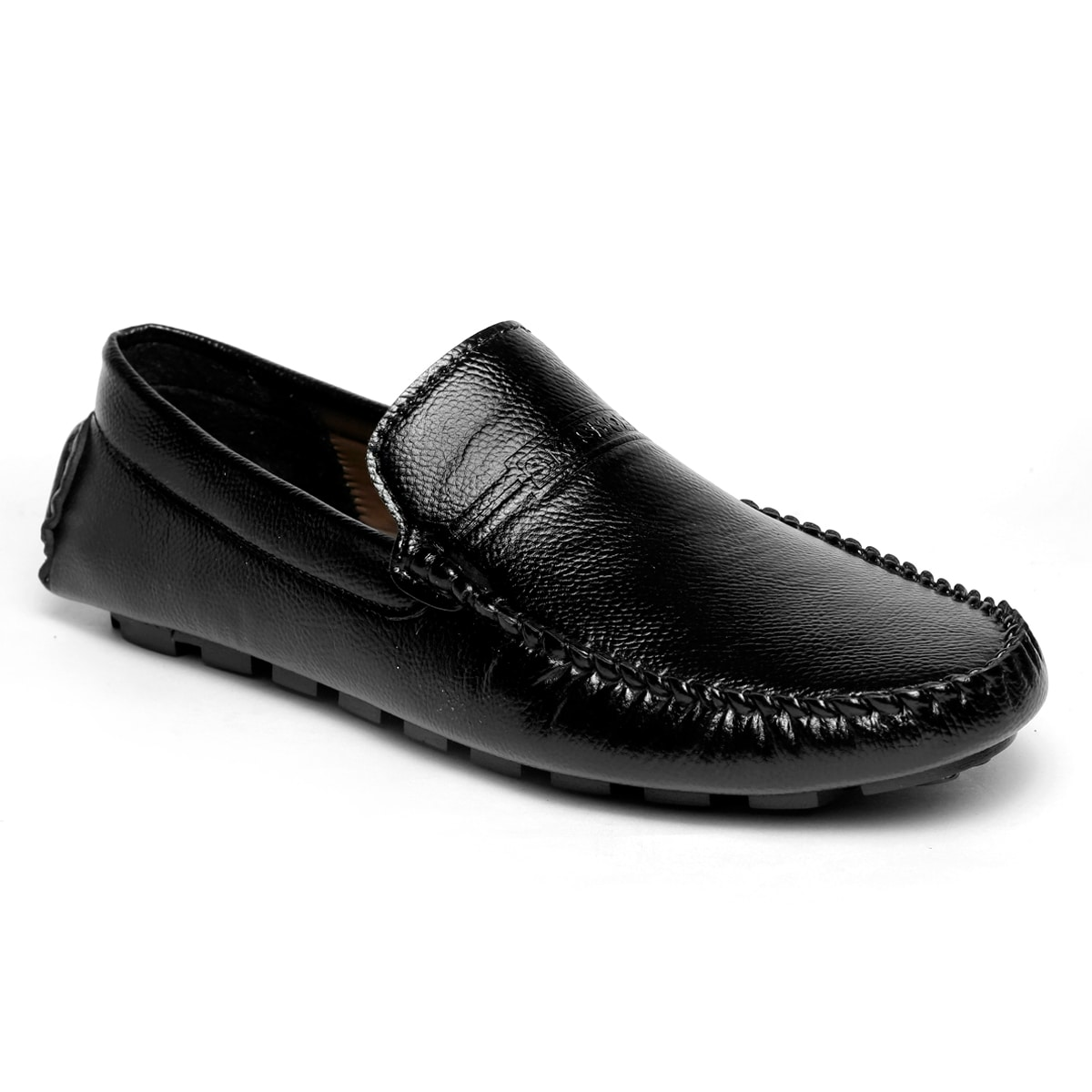 JK PORT COMFORTABLE, FASHIONABLE AND TRENDY LOAFERS JKPLF044BLK (BLACK,6-10,8 PAIR)