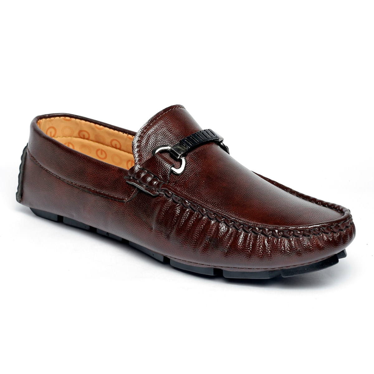 JK PORT COMFORTABLE, FASHIONABLE AND TRENDY LOAFERS JKPLF052DBRN (BROWN,6-10,8 PAIR)