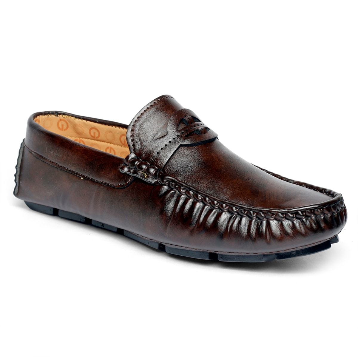 JK PORT COMFORTABLE, FASHIONABLE AND TRENDY LOAFERS JKPLF054BRN (BROWN,6-10,8 PAIR)