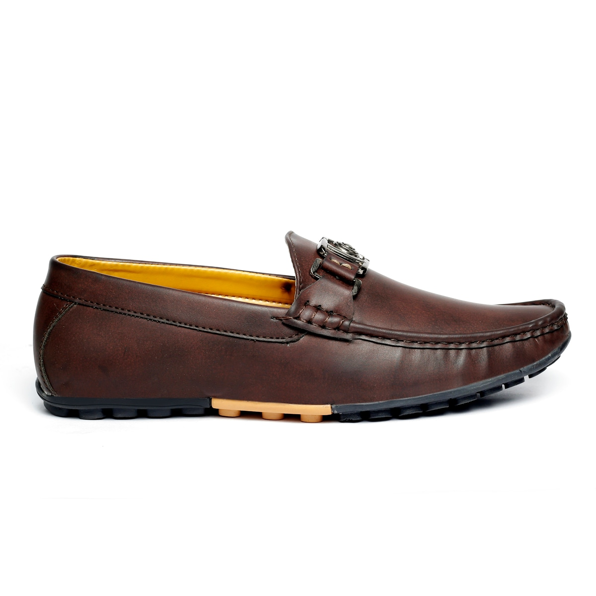 JK PORT COMFORTABLE, FASHIONABLE AND TRENDY LOAFERS JKPLF039BRN (BROWN,6-10,8 PAIR)