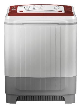 Samsung WT80M4000HR/TL Semi Automatic Top Load Washing Machine (8 Kg, White, Silver)