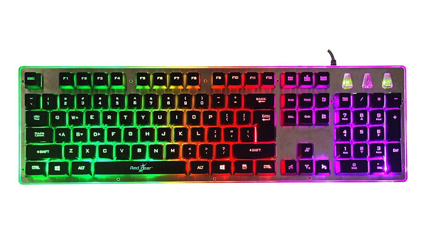 Redgear G-20 Gaming Keyboard And Mouse Combo With RGB Backlit Keyboard And 4800 Dpi RGB Mouse