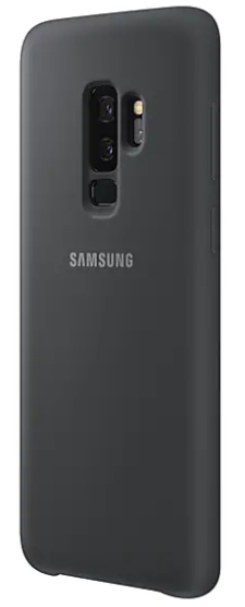 Samsung Galaxy S9+ Silicon Cover (Black )