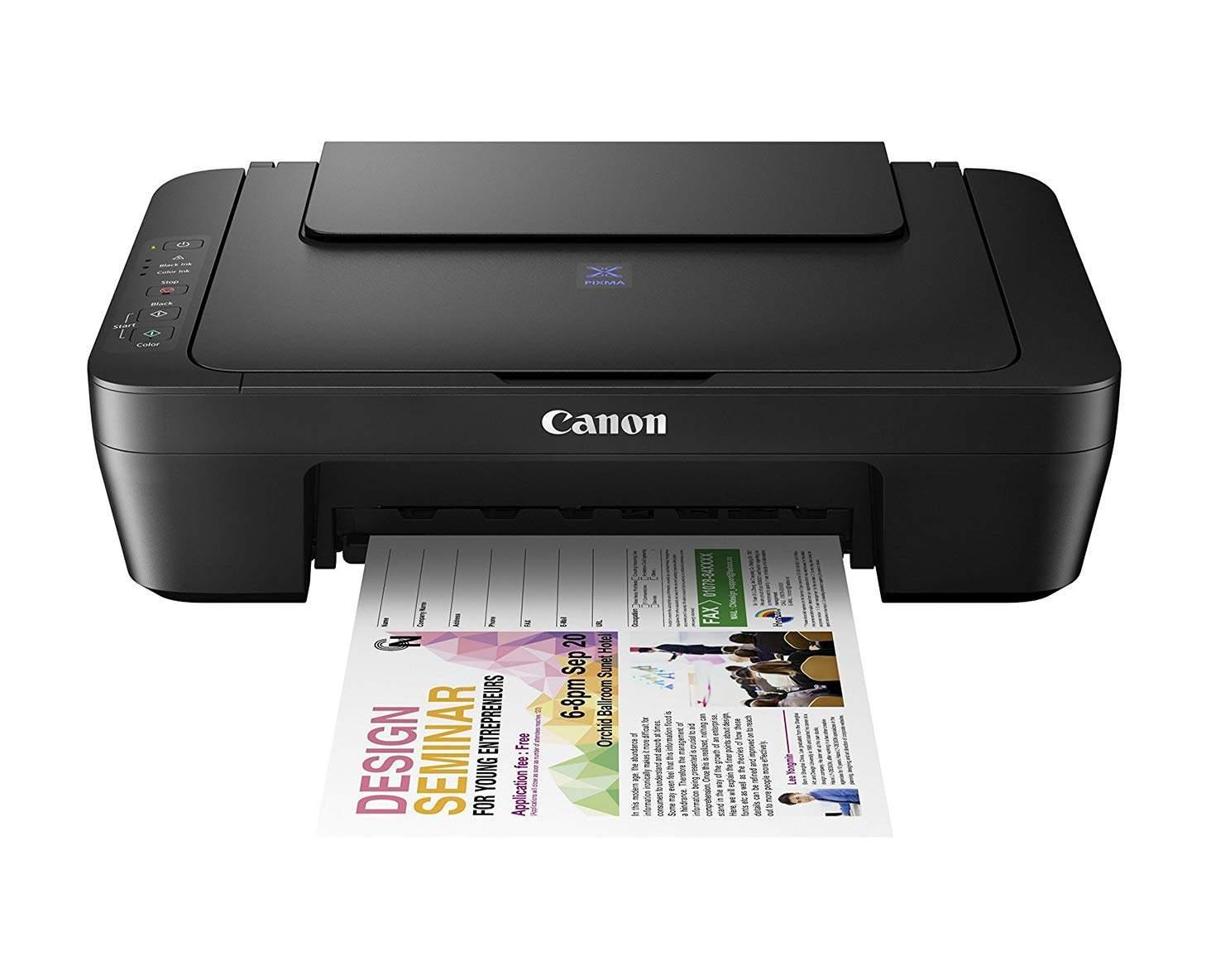 Canon Pixma E410 All In One Inkjet Printer (Black)