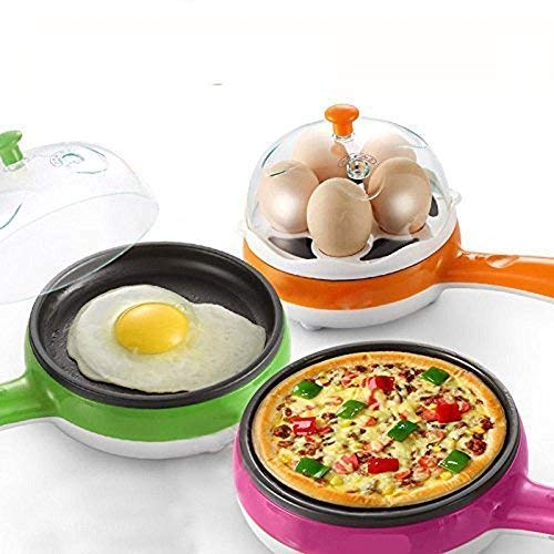 Steam & Boiled Egg Pan Pink (Pink)
