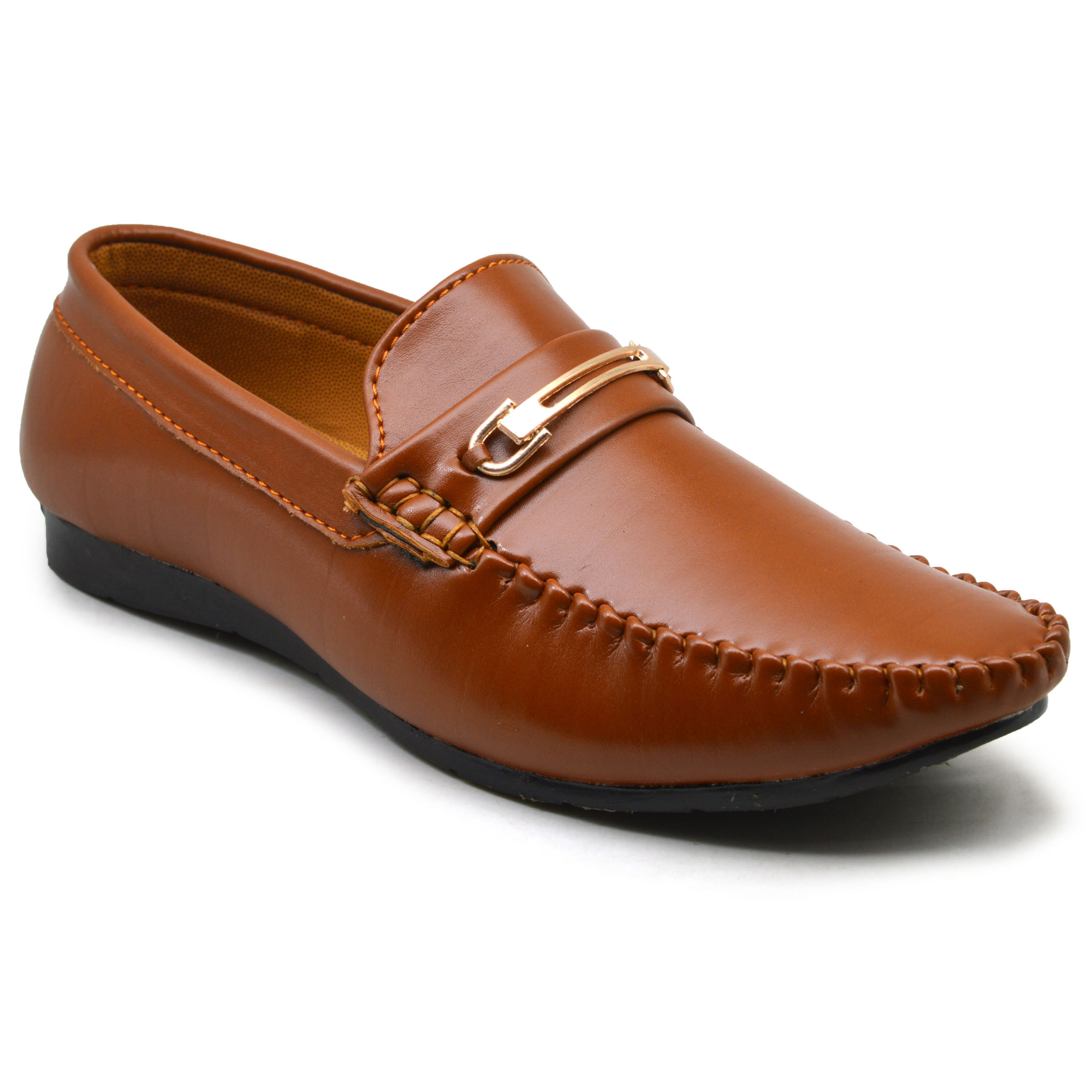 IMCOLUS407.708_BROWN PARTY & FANCY KIDS GOOD QUALITY LOAFER IMCOLUS407.708_BROWN (TAN, 7-10, 4 PAIR)