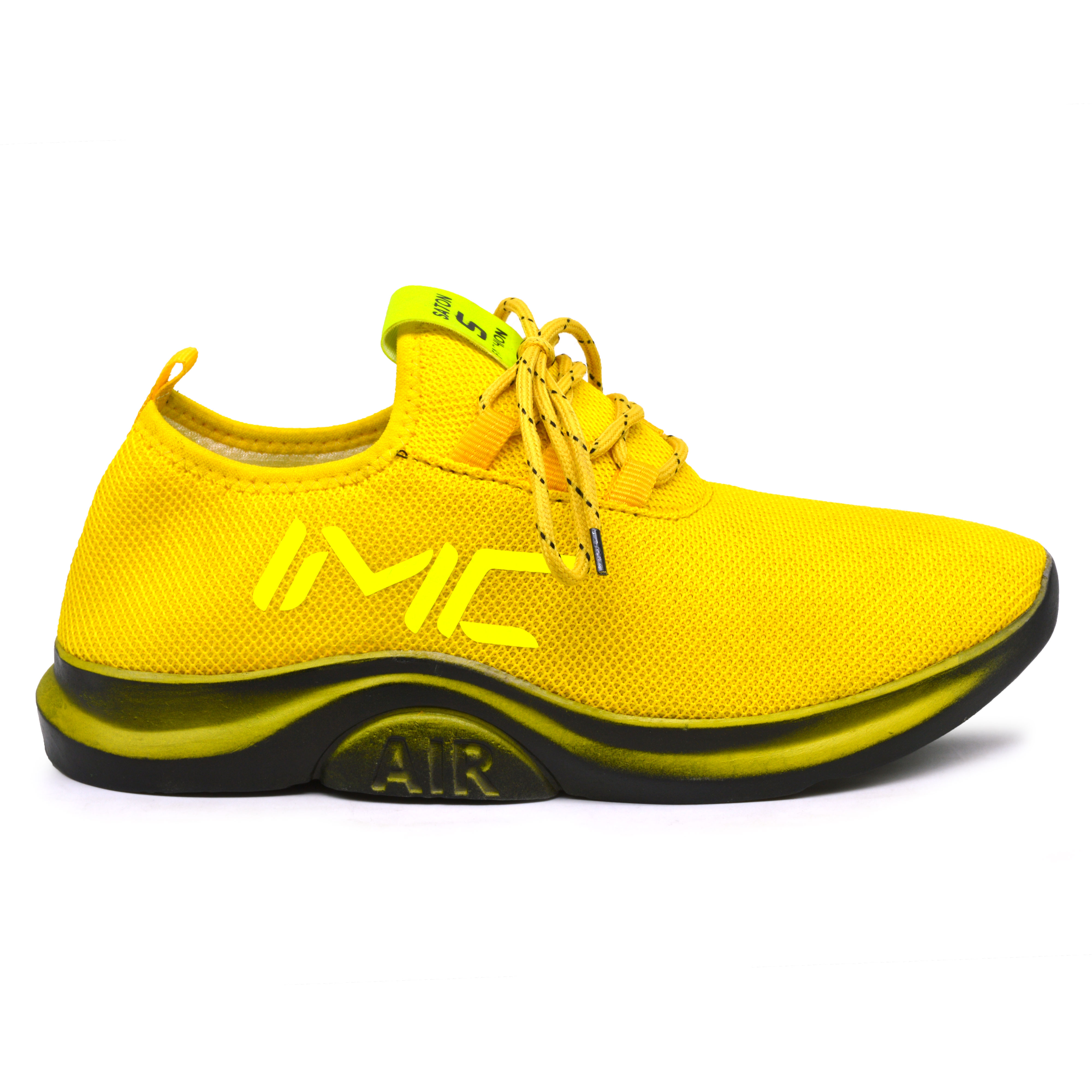 IMCOLUS400A.356_YELLOW RUNNING & EXERCISE SPORT SHOES FOR MEN'S IMCOLUS400A.356_YLW (YELLOW, 7-10, 4 PAIR)