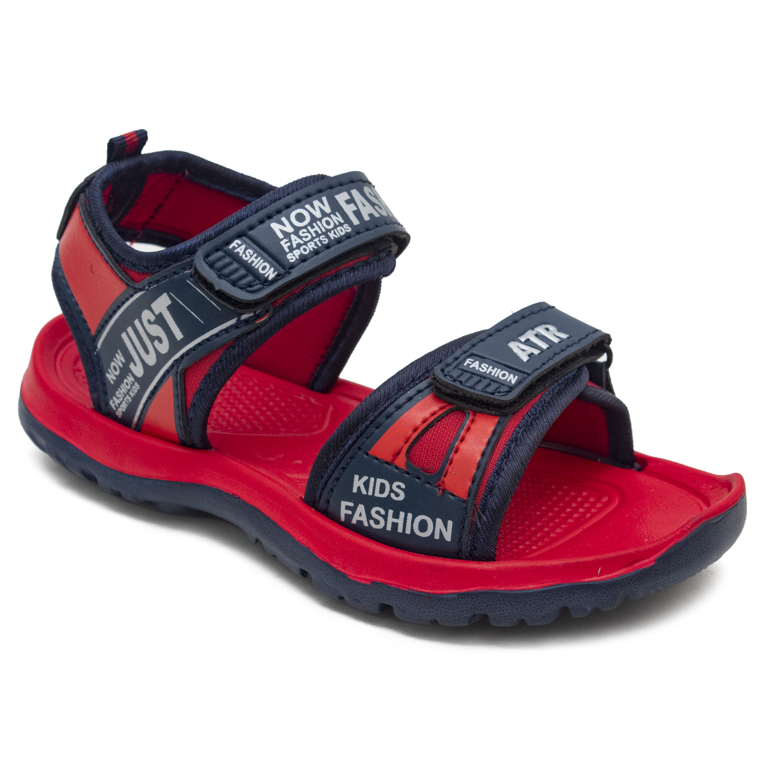 Fancy Sports Sandals For Kids FT-MSERIES1_Red (RED,5-10,10 PAIR)