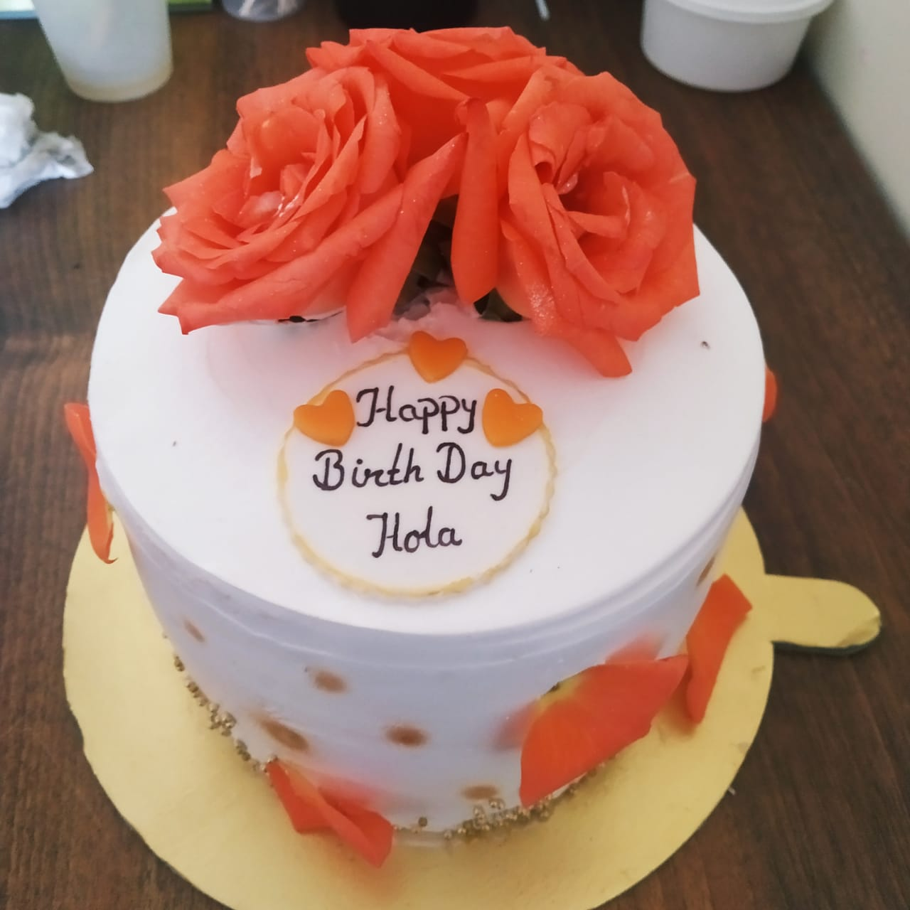 Floral Cakes (1 Kg, Chocolate)