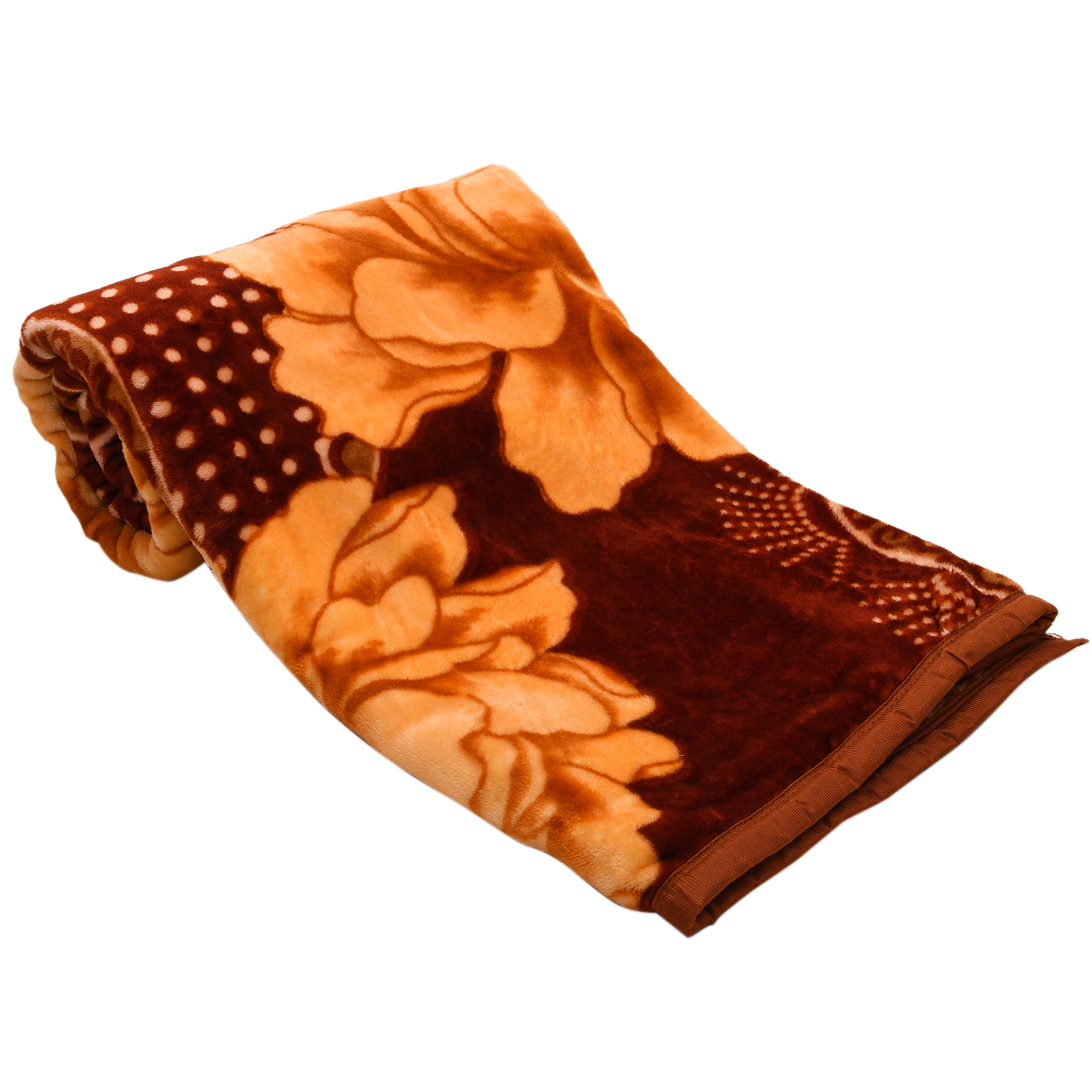 Soft Luxurious Embossed Very Warm Blankets Solid Colour Soft Ultra Floral Microfiber Double Bed Mink Winter Blanket 021