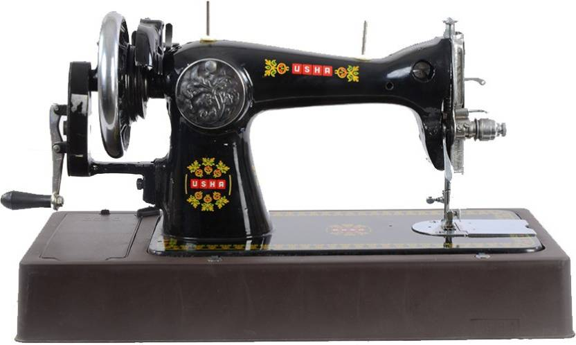 Usha Umang With Cover Electronic Sewing Machine (Black)
