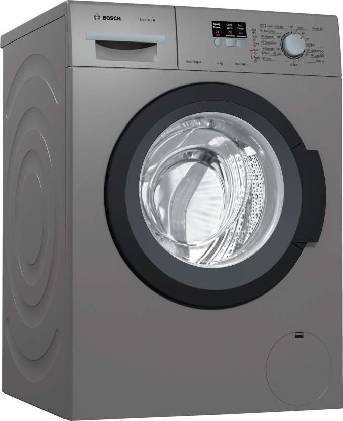 Bosch 7 Kg Fully Automatic Front Load Washing Machine With In-built Heater Grey (WAK2006TIN)