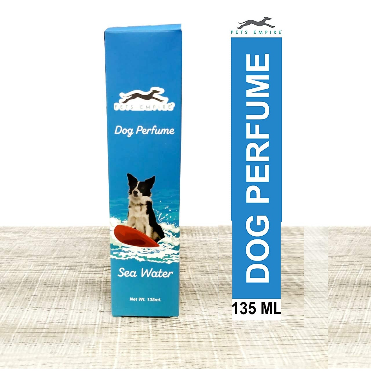 Pets Empire Dog Perfumes,135 ML-Pack Of 1 (Sea Water)