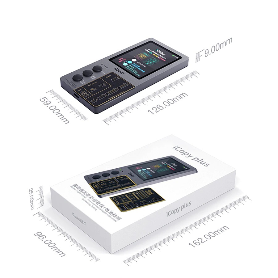 Qianli ICopy Plus 2.1 With Battery Testing Board For IPhone LCD Vibrator Transfer EEPROM Programmer