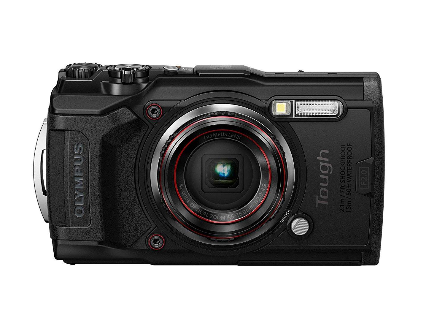 Olympus Tough TG-6 (Black)