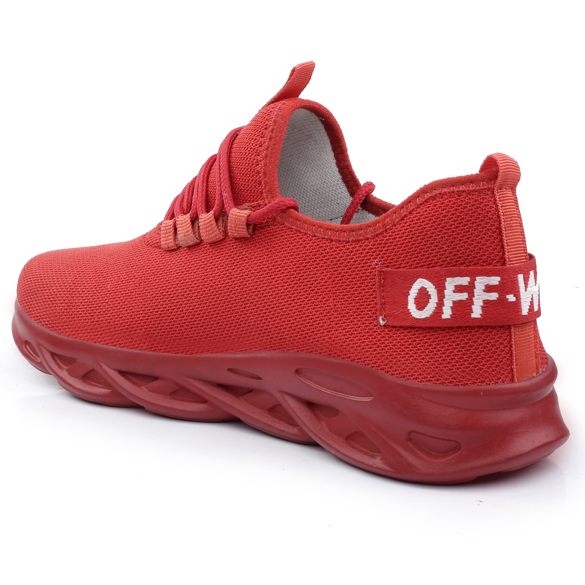 IMC671.101_RD FANCY & COMFORTABLE FLEXIBLE SPORT SHOE FOR MEN IMC671.101_RD (RED, 6TO9, 4 PAIRS)