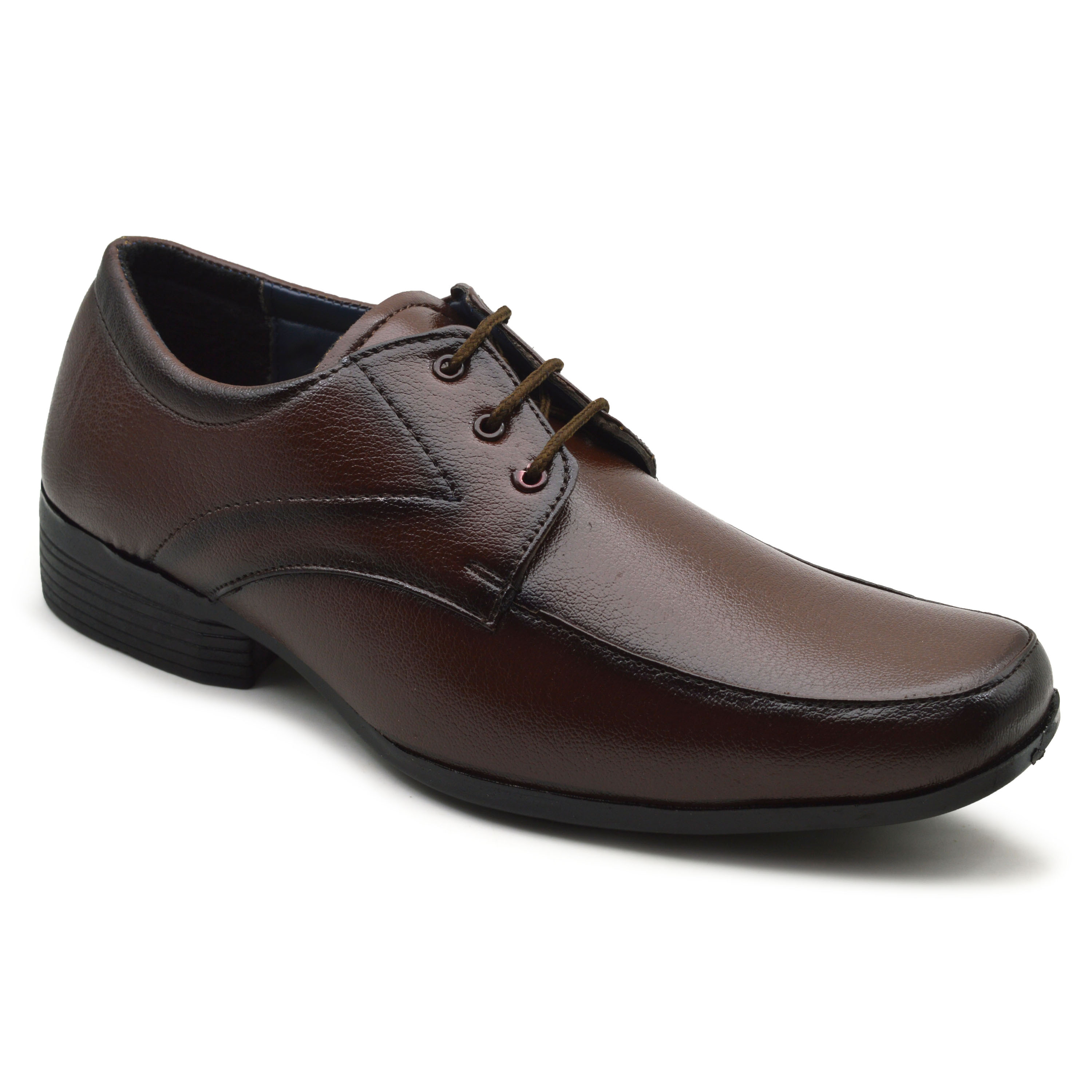 IMC500.786_BR OFFICE STYLE FORMAL SHOE FOR MEN IMC500.786_BR (BROWN, 6TO9, 4 PAIRS)