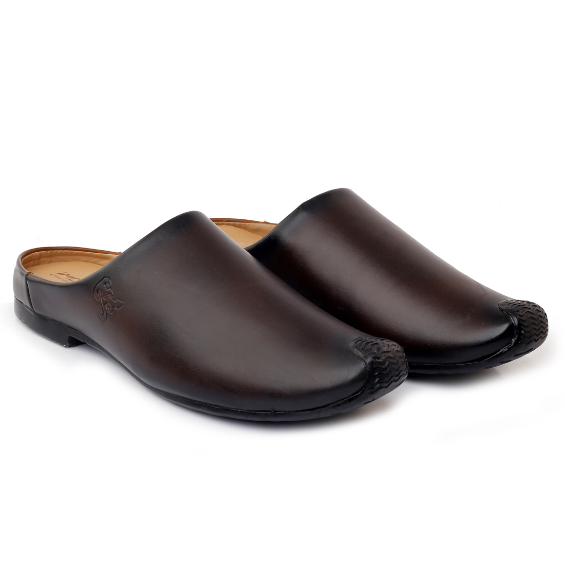 IMC543A.35940_BR FANCY & GOOD-LOOKING BANTU STYLI LOAFER SHOE FOR MEN IMC543A.35940_BR (BROWN, 7TO10, 4 PAIRS)