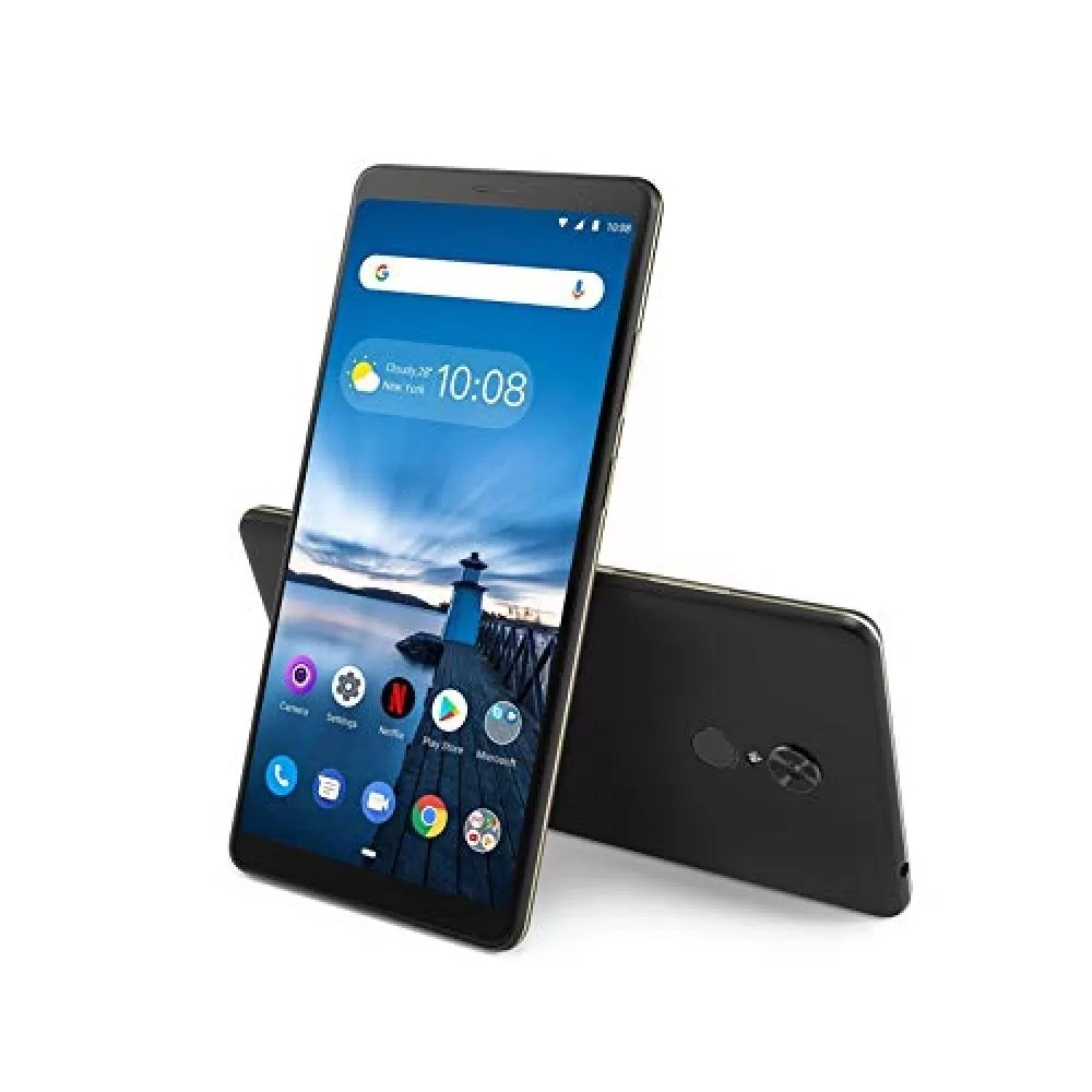 Lenovo Tab V7 6.95 Inch FHD, Qualcomm Octa Core 1.8Ghz, 2GB RAM, 16GB Storage Expnadable Upto 128GB, 4G, VoLTE + Wi-Fi, 5MP AF With Flash / 2MP FC And 2MP Iris Camera , 5180 MAh, Android 9.0