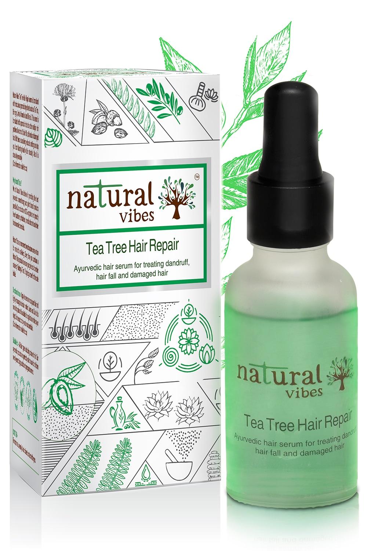 Natural Vibes Ayurvedic Tea Tree Hair Repair Serum (30 ml)
