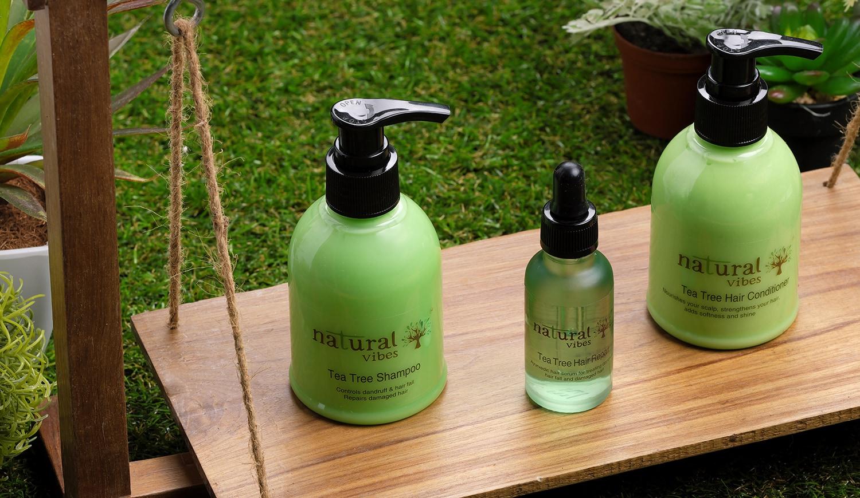 Natural Vibes Ayurvedic Tea Tree Hair Conditioner (150 ml)