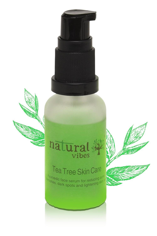 Natural Vibes Ayurvedic Tea Tree Skin Repair Serum (30 ml)