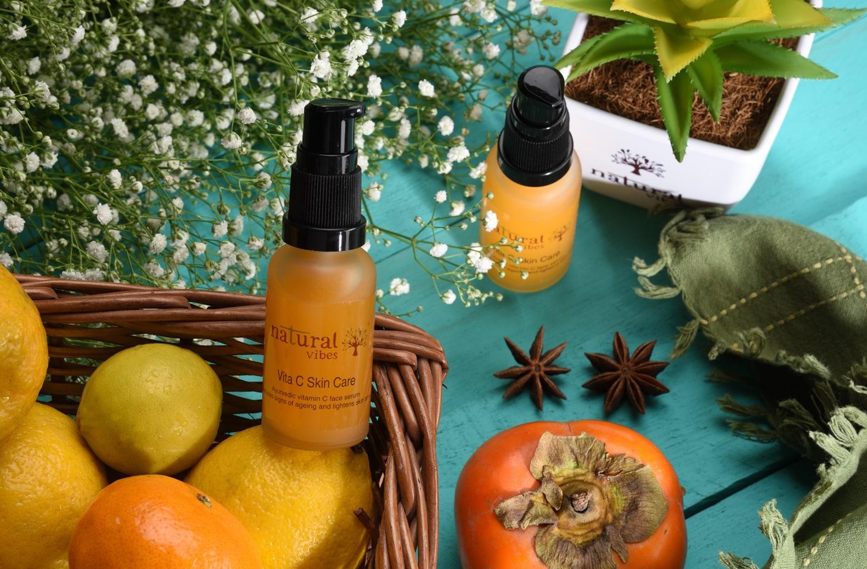 Natural Vibes Ayurvedic Vitamin C Skin Care Serum (30 ml)