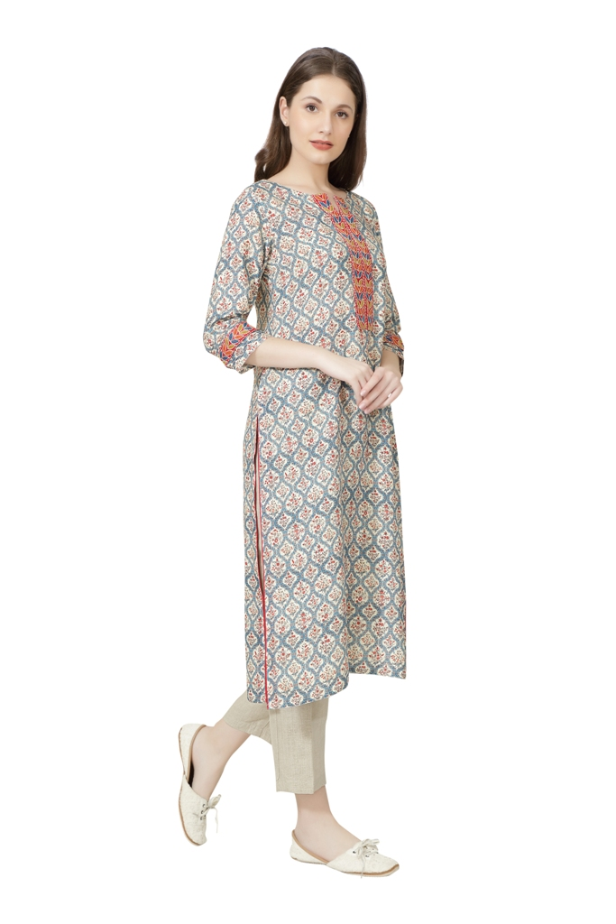 190267 The Pink City Tunic (S,Pink)