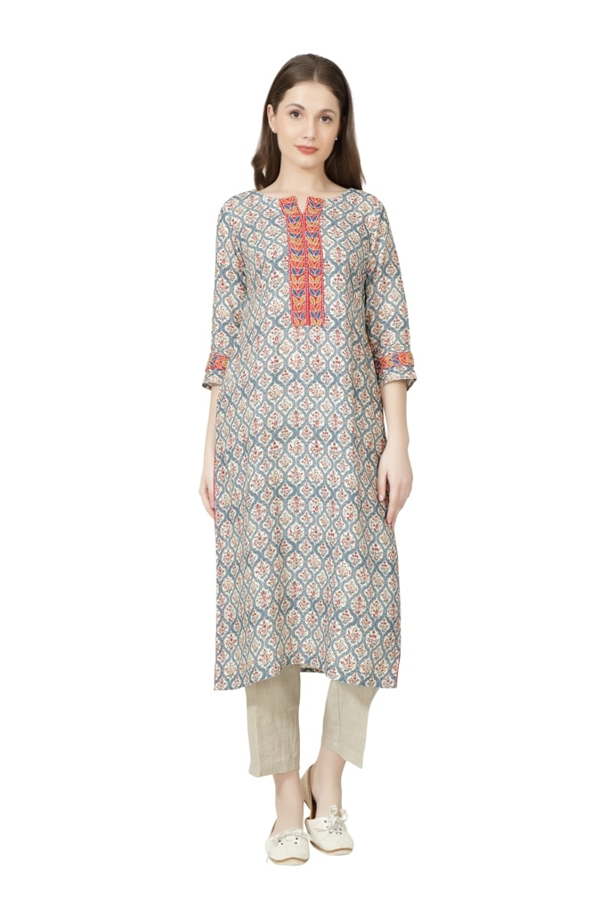 190267 The Pink City Tunic (L,Pink)