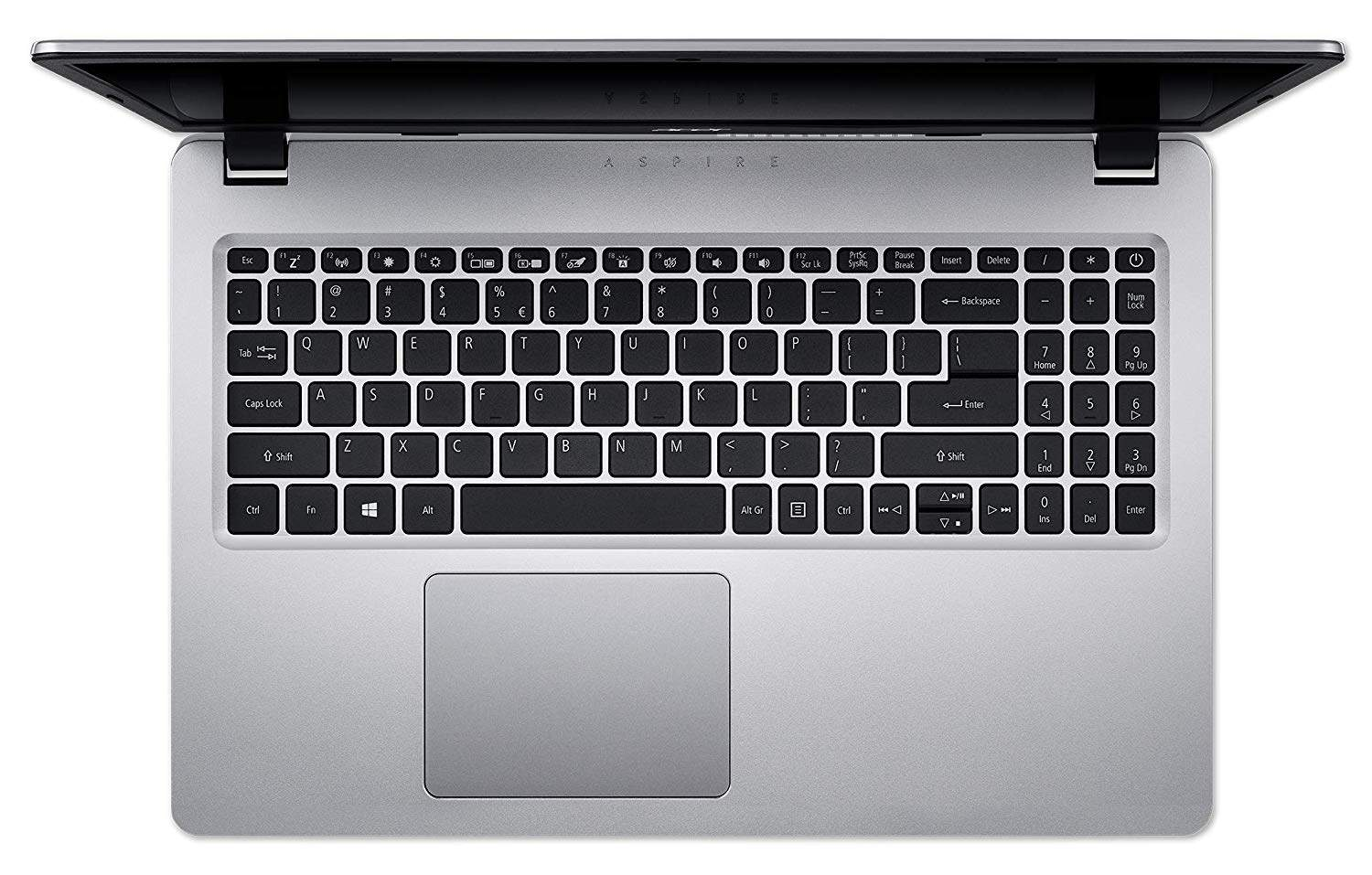 Acer Aspire 5s 15.6- FHD Thin And Light Laptop (8th Gen Intel Core I3-8145U/4GB/1TB/Windows 10 Home/Integrated Graphics), Silver