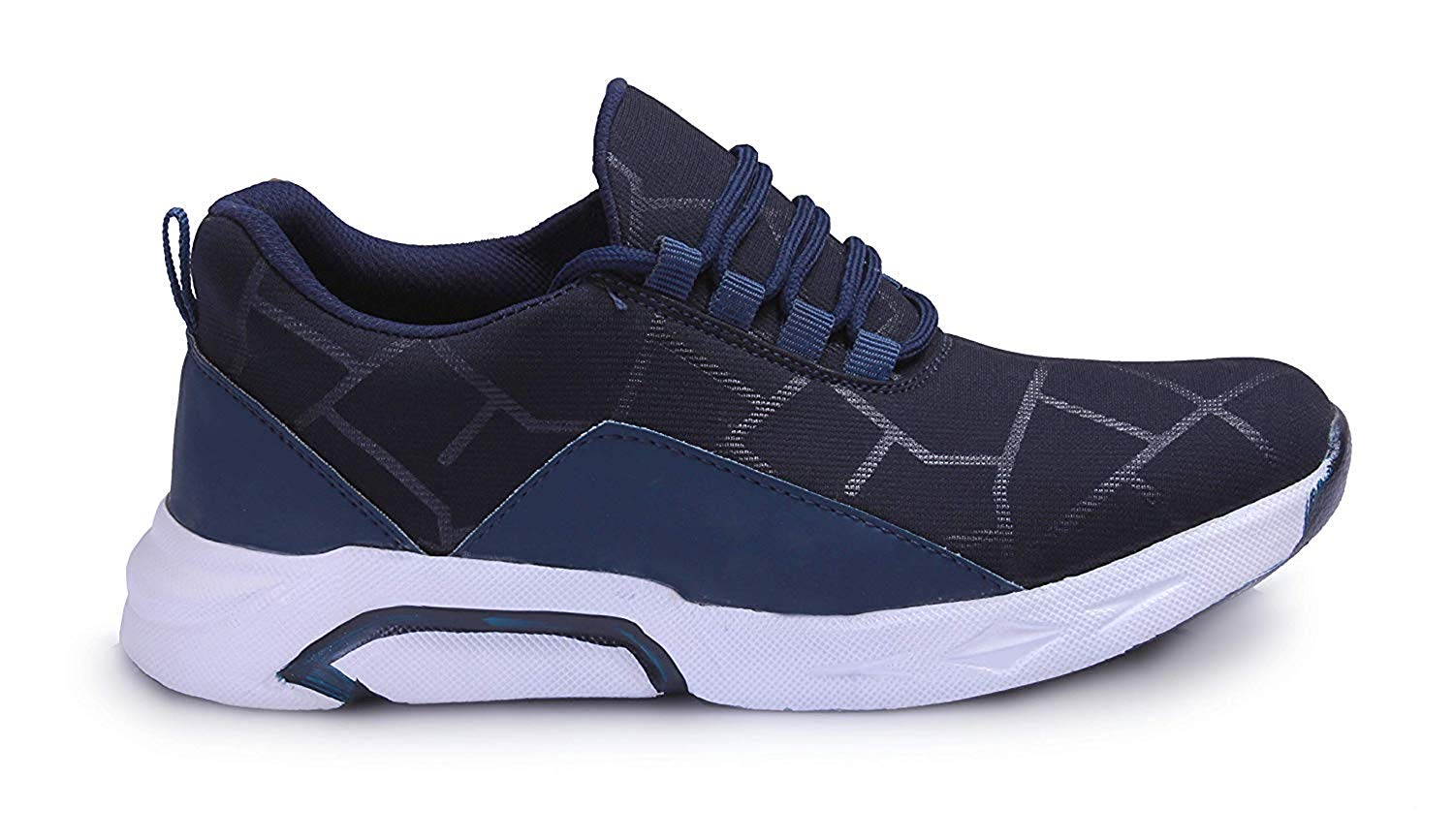 Raysfield Men's Blue Sports  Running Styles Shoes Blue_871 (Blue,6_10,8 PAIR)