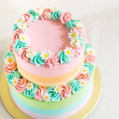 Rainbow Tier Cake