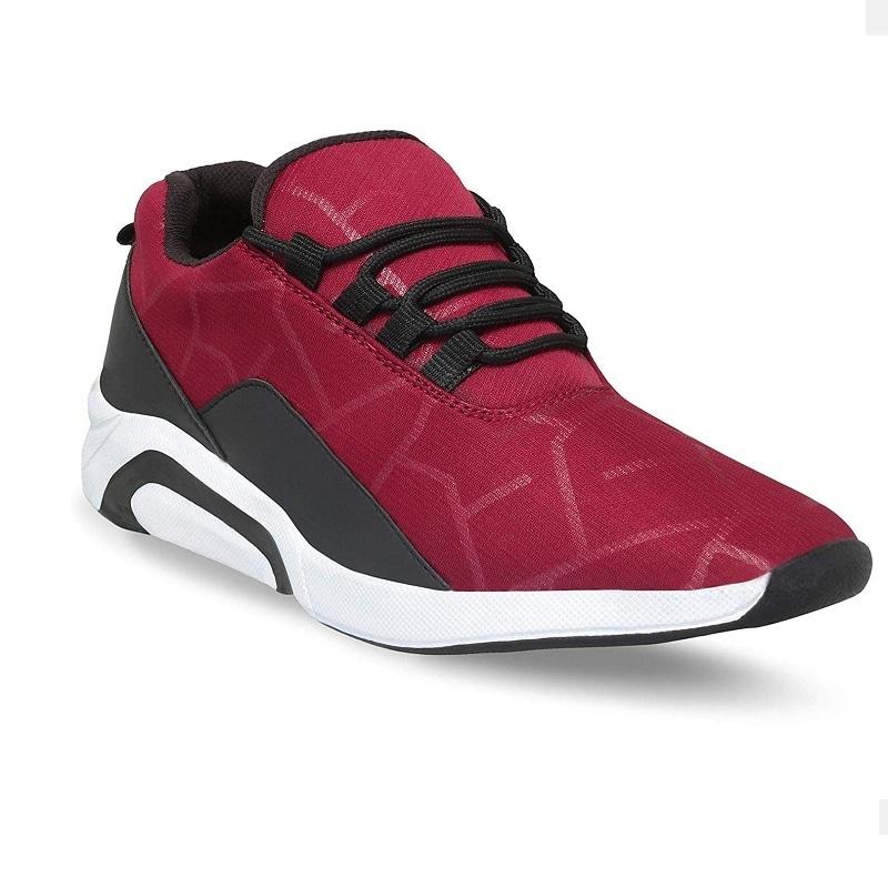 Raysfield Men's Maroon Sports  Running Styles Shoes Maroon_873 (Maroon,6_10,8 PAIR)
