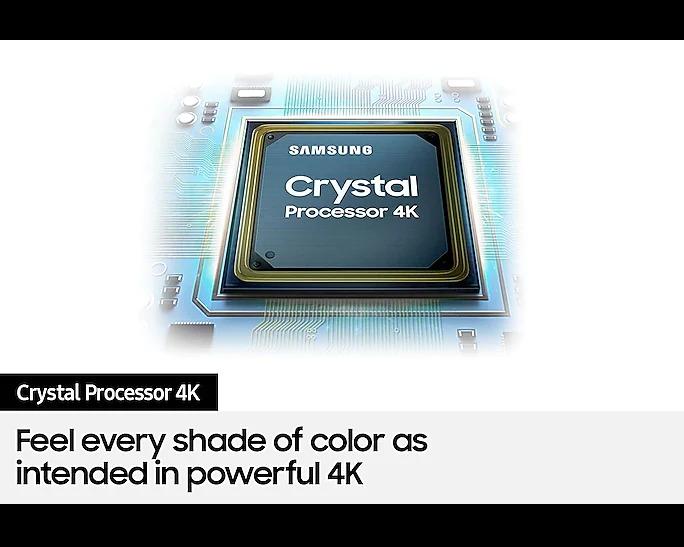 "SAMSUNG UA43AUE70AKLXL 108cm (43"") Crystal 4K UHD Smart TV"