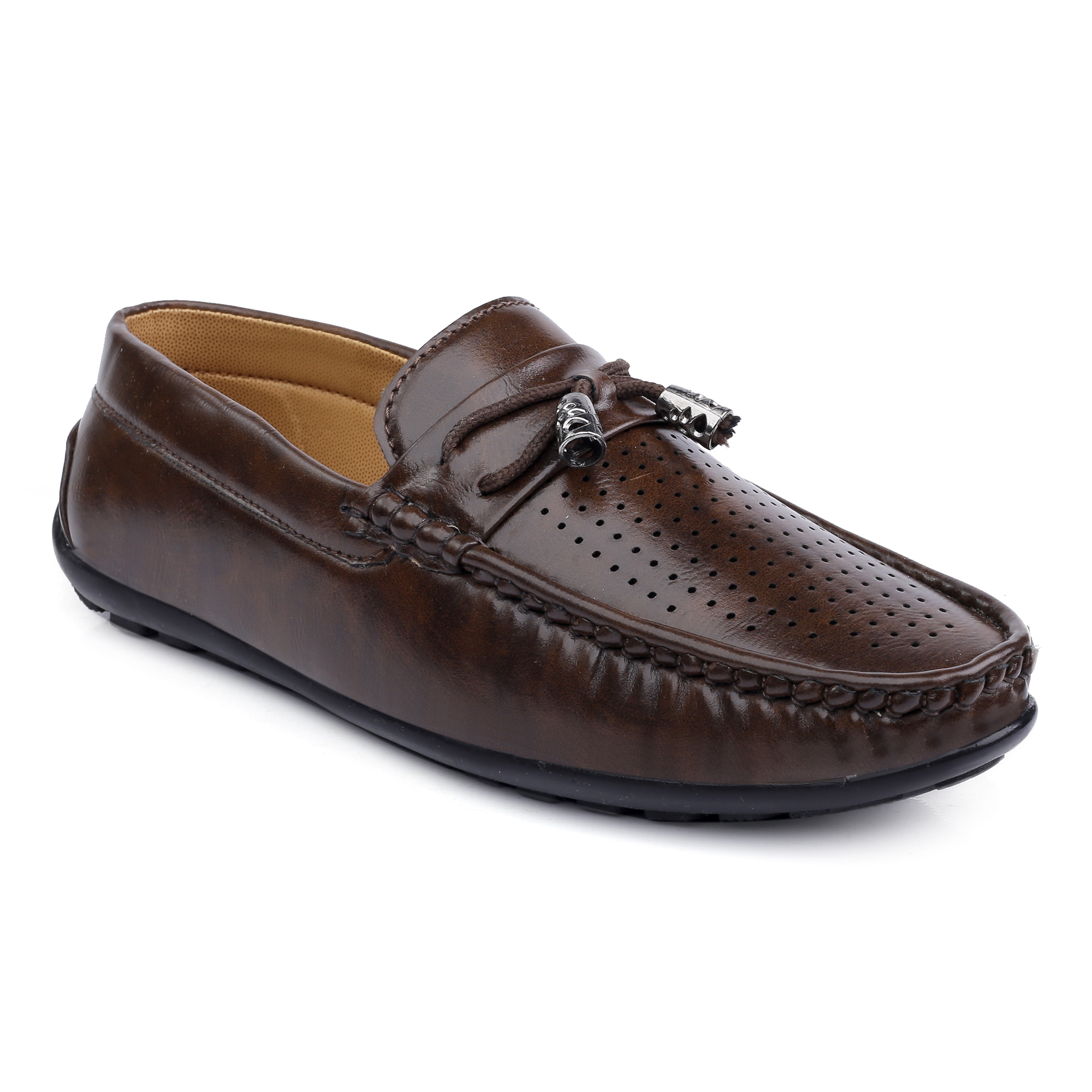 IMCO597.5000_BR STYLISH & FANCY LOAFER SHOE FOR BOYS IMCO597.5000_BR (BROWN, 2TO5, 8 PAIRS)