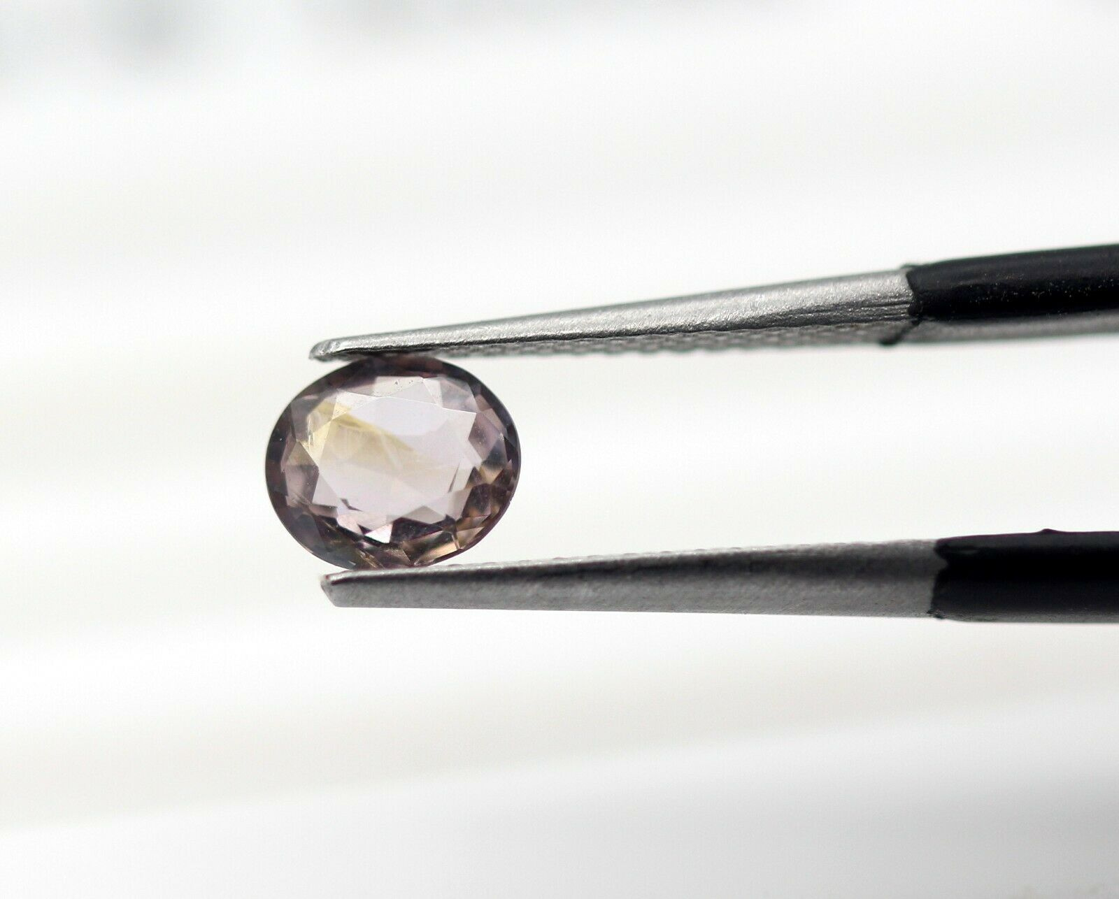 0.63 Ct Sapphire Loose Oval Natural Gemstone Sri Lankan Copper Brown Color Certified